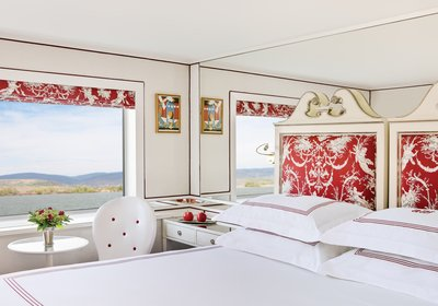 River Countess Category 2 & 3 Staterooms (décor may vary)